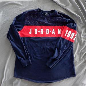 """Air Jordan 7 """"Olympic"""" Long-Sleeve Shirt"""